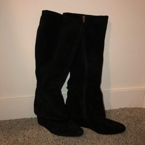 Jessica Simpson Cuffed Wedge Boots